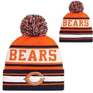 Fans Hats Winter Knit Cuffed